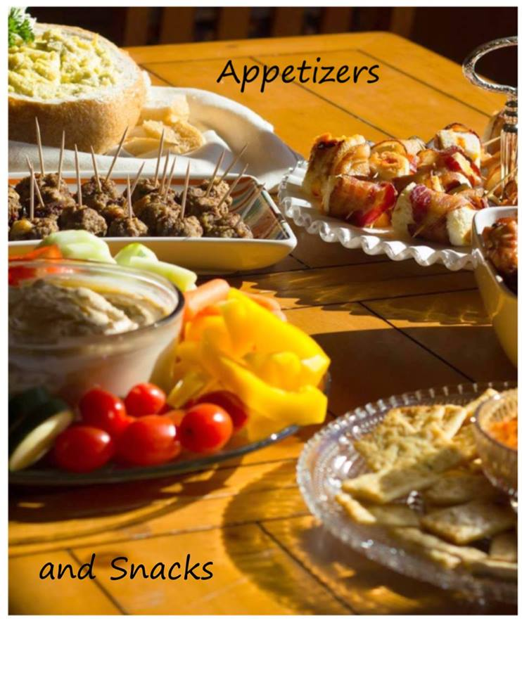 appetizers and snacks - Christmas Eve Snacks